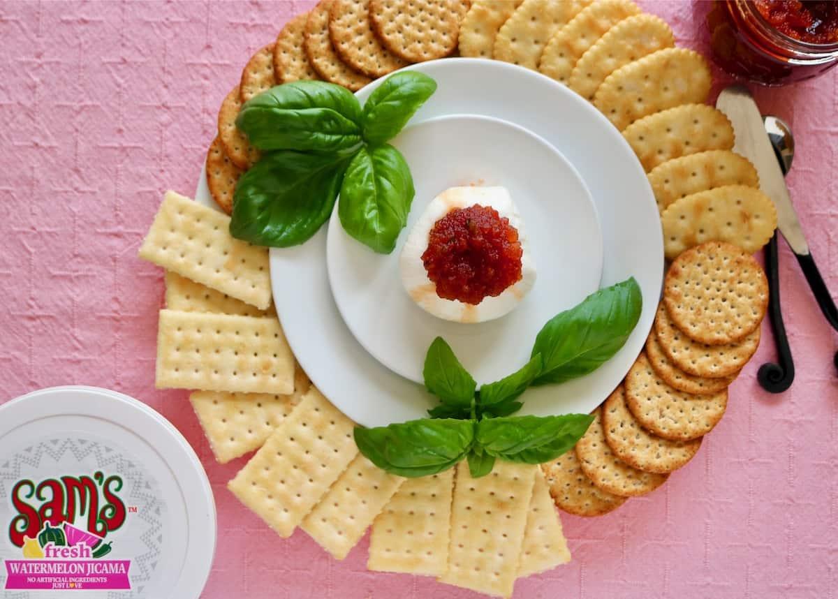 Watermelon Jicama jam is among the best summer salsa appetizers